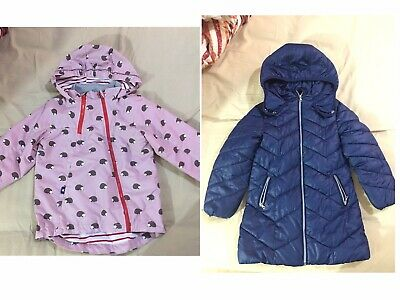 Next Girls School  Padded Warm Winter Coat Jacket Year 6 Bundle
