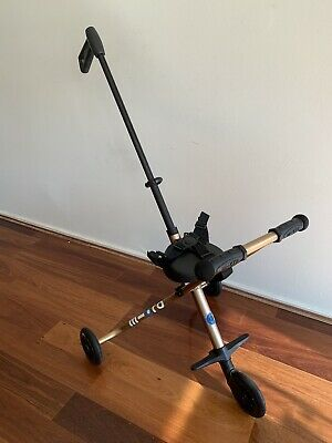 Micro Scooters - Micro Trike Deluxe Gold. Excellent Condition