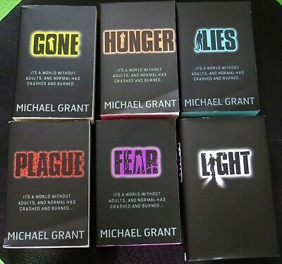 GONE Series by Michael Grant all 6 Books - NEW with some Shelfwear