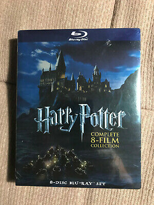Harry Potter Complete 8-film Collection 8-disc BLU RAY Set 2011