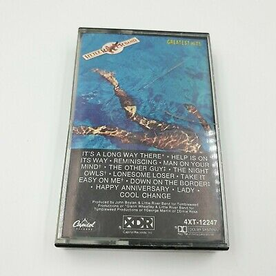 Little River Band Greatest Hits Cassette Tape Capital Records 1982 12 Songs Nice