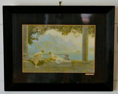 Antique 1920s  lithoprint Jean Lasalle by Oilette Day Dreams lithograph