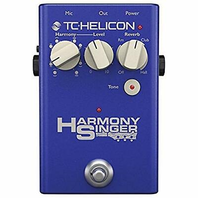 TC HELICON Vocal Harmony Reverb Pedal HARMONY SINGER 2 EMS w/ Tracking NEW