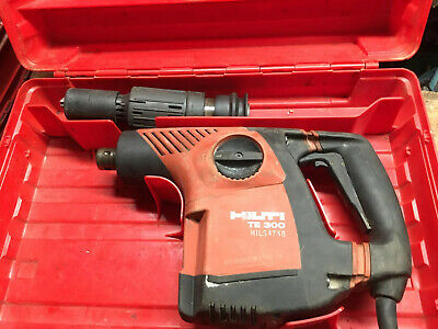 Hilti TE 300 AVR Needle Scaler Gun Chipping Hammer Compact Breaker 110V.    2289