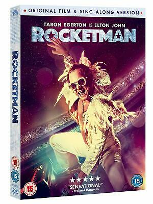 Rocketman (DVD 2019) Original Film And Song Along Version New & Sealed
