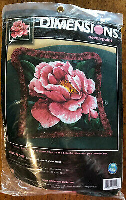 Dimensions Needlepoint 'Pink Peony' Kit 20047