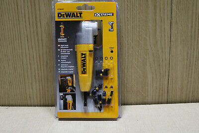 Dewalt DT70619T Impact Rated Right Angle Drill Bit Holder & 8 Bits