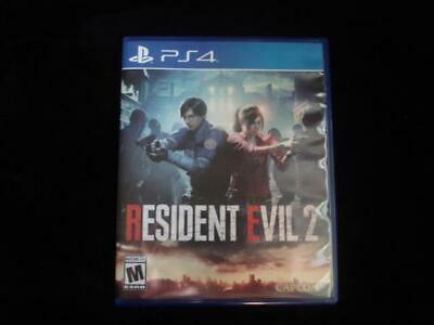 Resident Evil 2 (Sony PlayStation 4, 2019) RE2 Excellent Condition