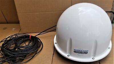 Winegard Carryout Automatic Portable Satellite Antenna + Cables !   W