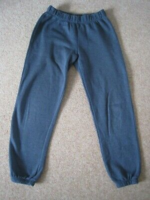 Blue girls tracksuit / jogging trousers from Matalan age 10-11 - good condition