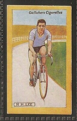 Gallaher-British Champions Of 1923-#58- Cycling - Lee