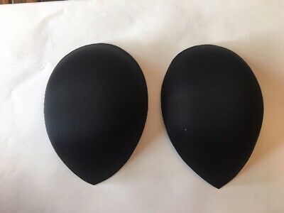 Super soft Teardrop bra cup molded Black Size C       ~Extremely Comfortable~