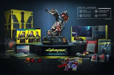Cyberpunk 2077 Collector's Edition PS4 ITA - Brand New & Sealed (Preordine)