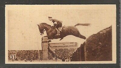 Phillips-Olympic Champions Amsterdam 1928-#31- Horse Racing - Lt H Freihen