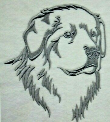 Great Pyrenees SILHOUETTE Personalized Embroidered Fleece Stadium Blanket Gift