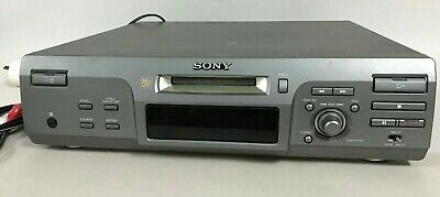 Sony Minidisc Deck MDS-M100 Player Recorder Deck MD Mini Disc Disk with Remote