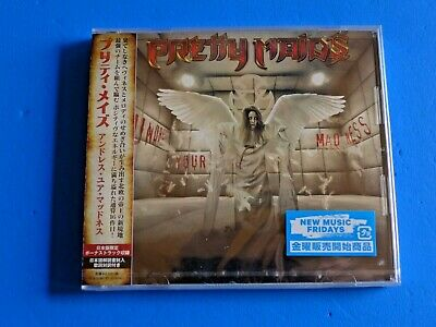 2019 JAPAN CD PRETTY MAIDS UNDRESS YOUR MADNESS w/BONUS TRACK FOR JAPAN