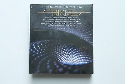 "Tool Fear Inoculum Limited Deluxe Edition Album Trifold CD 4"" HD Screen In Hand"