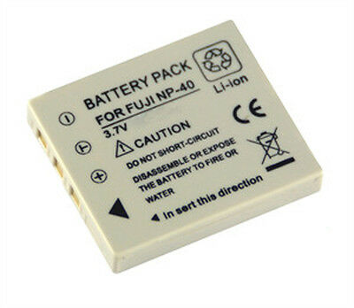 Battery for FujiFilm FUJI NP40 NP-40 NP-40N FinePix F460 F700 Z5fd F650 camera