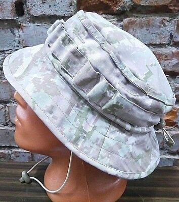 Russian army summer officer hat BOONIE tropic DIGI BIEGE camo size 57-62 Syria