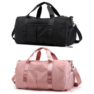 Mens Womens Waterproof Sports Gym Duffle Bag Large Carry on Workout Travel Bag
