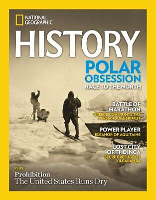 National Geographic History Polar Obsession Marathon Jan/Feb 2020 Magazine W12