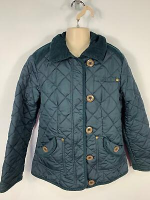 Girls Next Navy Blue Diamond Quilted Casual Jacket Coat Kids Age 11/12 Years