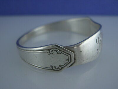 RARE Sterling TOWLE Napkin Ring LADY MARY 1917