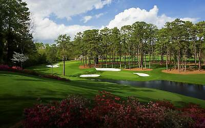 2020 Masters Tournament Golf Tickets / Badges  SATURDAY AND SUNDAY (Dates TBD)