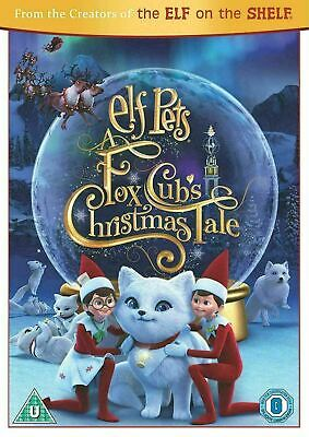 Elf Pets A Fox Cub's Christmas Tale Cubs New DVD Region 4 An Elf On The Shelf