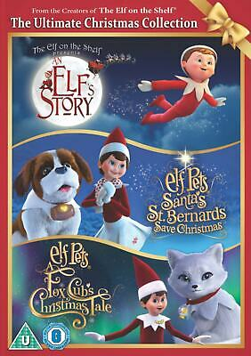 The Elf On the Shelf The Ultimate Christmas Collection New DVD Elf Pets Fox Cubs