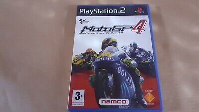 Moto Gp 4 Playstation 2 Ps2 Sin Manual - Pal España