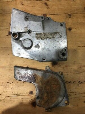 Harley Davidson Ironhead Sportster Sprocket Cover And Inner Chain Guard 1979