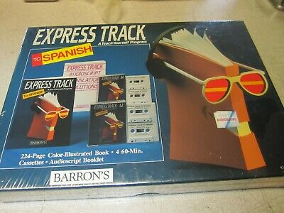Barron's  Express Track To Spanish A Teach Yourself Program  (Books  & Cassettes