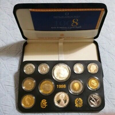 Repubblica Italiana Serie Divisionale 1998 Proof Bernini