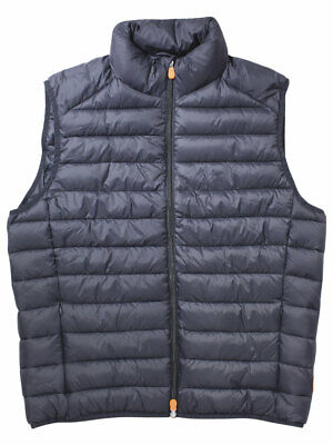 Save The Duck Men's Quilted Sleeveless Winter Vest