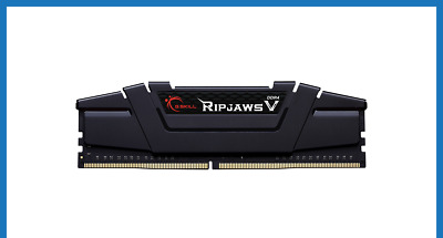 G.Skill Ripjaws V 16GB CL18 (2x8GB) DDR4 3600MHz Desktop Memory RAM Kit Black