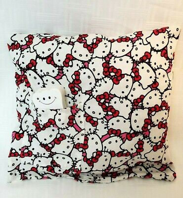 Hello Kitty Tooth Fairy Pillow & Wooden Tooth Box