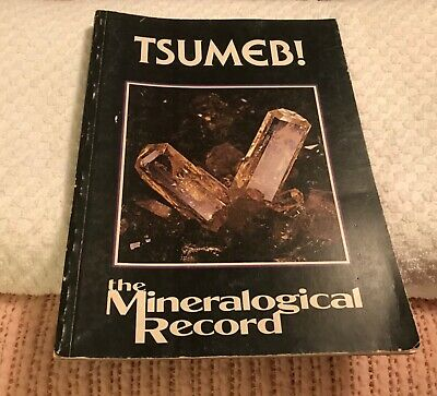 Tsumeb The Mineralogical Record Book