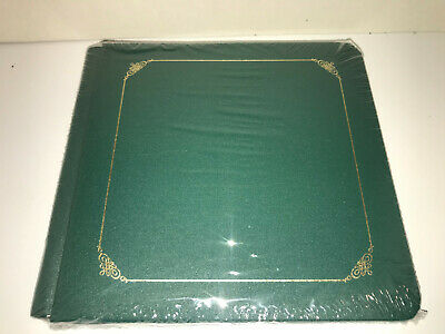 Creative Memories 7x7 Green with Pages Scrapbook Album Refill NEW
