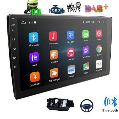 """Universal 9"""" Android 8.1 Double 2DIN Car Stereo Radio MP5 Player Pad GPS Wifi US"""