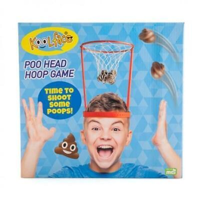 444225 Koolface Poo Head Hoop Game Time To Shoot Some Poops Funny Joke Novelty