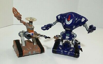 Lost In Space Lot of 2 Robot Electronic Battery operated Toy Figures