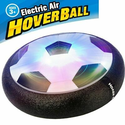 Indoor LED Hover Ball Air Power Floating Soccer Ball Light Up Football Disc Toys