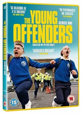 The Young Offenders Season One DVD Brand New 2018 Region 2