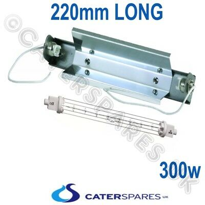 Catering//Gantry Heat Lamp 300w Double Jacketed Push Fit 118mm R7S