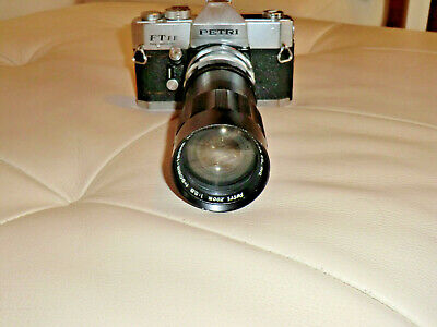 Vintage PETRI FT EE SLR 35mm Film Camera