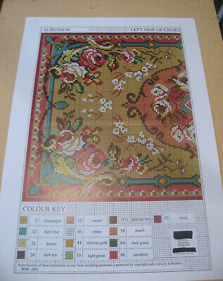 "Latch hook rug chart, discontinued stock, original Readicut design ""Aubusson"""