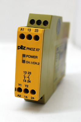 Pilz PNOZ X7 Safety Relay, 24VACDC 2n/o 774059