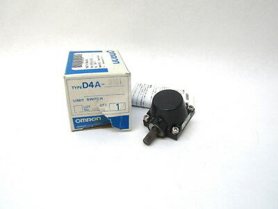 Omron D4A-0001 Limit Switch Head for Roller Lever D4A Series New